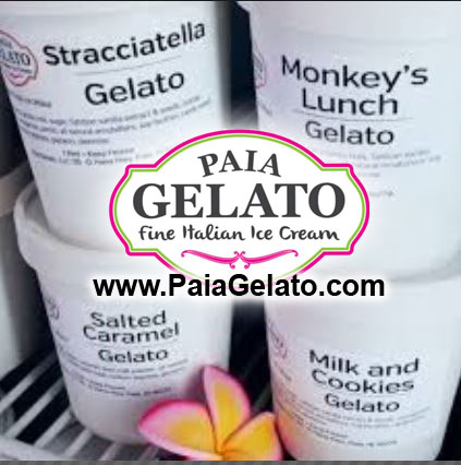 Paia Gelato is The Best Gelato on Maui